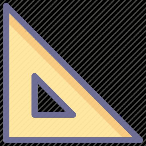 design, ruler, size icon