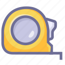 length, measure, size, tape measure icon