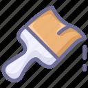 brush, construction, paint icon