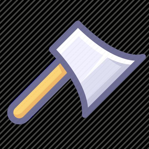 axe, knife, tool icon