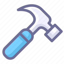 hammer, options, parameter icon