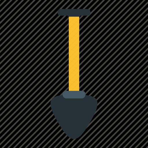construction, digging, shovel, tool icon