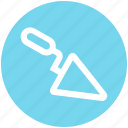 bricklayer, cement, construction, equipment, maintenance, tool, trowel icon