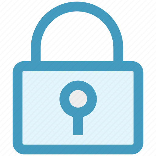closed, construction, lock, password, protection, safe, security icon