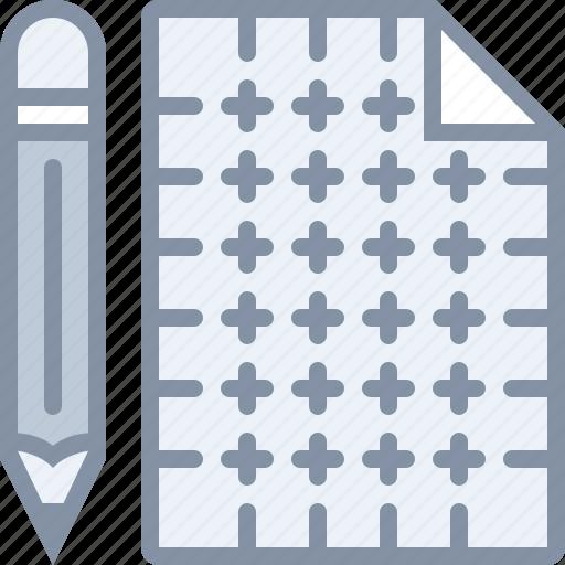 blueprint, construction, design, pencil, tool icon