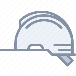 construction, equipment, hat, protection icon
