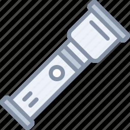 equipment, flashlight, light, tool icon