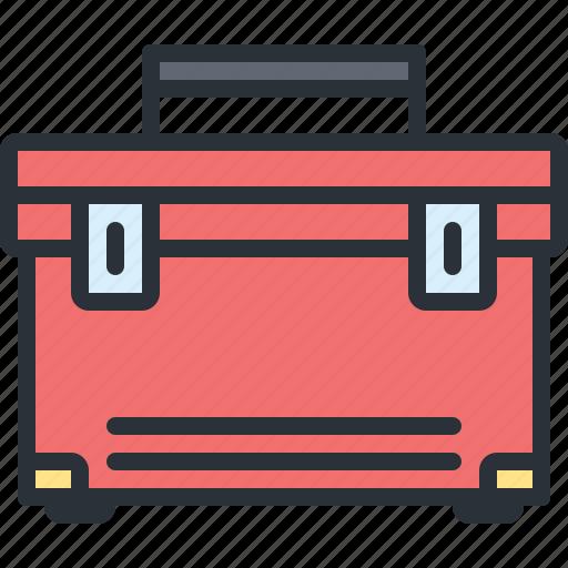 equipment, mechanic, tool box, tools icon