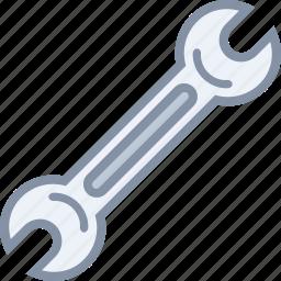 equipment, mechanic, repair, tool, wrench icon