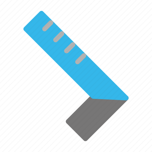 construction, contractor, equipment, industrial, industry, ruler, site icon