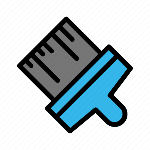 Brush, construction, contractor, equipment, industrial, industry, site icon - Download on Iconfinder