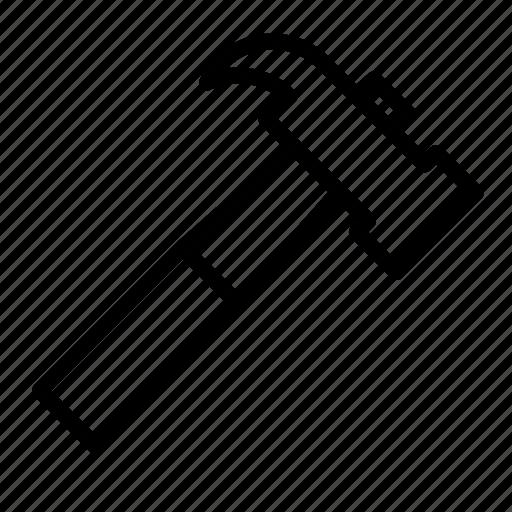 construction, equipment, hammer, setting, tool icon