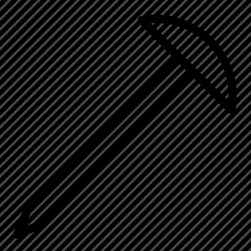 construction, equipment, nail, pin, setting, tool icon