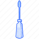 screwdriver, tool, wrench icon