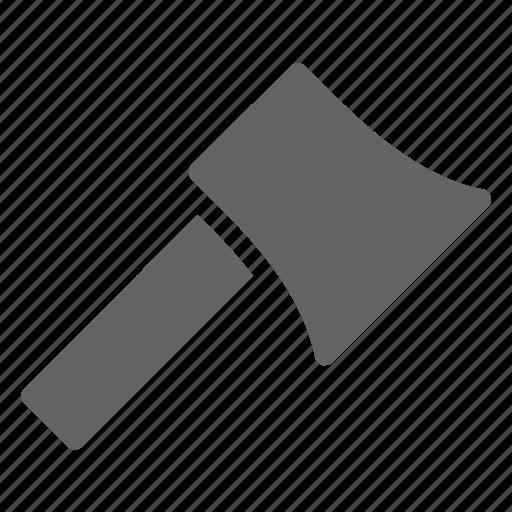 axe, equipment, hatchet icon
