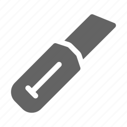 cutter, knife, tool icon