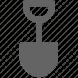 gardening, shovel, spade icon