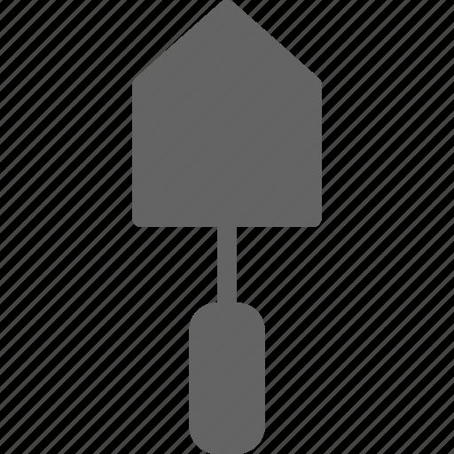 construction, equipment, trowel, worker icon