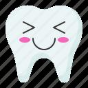 face, smile, emoji, tooth, emoticon icon