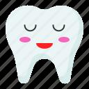 drowsy, face, emoji, tooth, emoticon icon