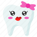 emoji, emoticon, face, smile, tooth icon