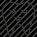 avatar, emoji, face, sleep, tooth icon