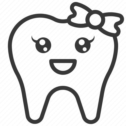 avatar, emoji, face, smile, tooth icon