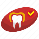 effect, medicine, safety, stomatology, tooth icon