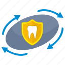 care, health, safety, stomatology, tooth icon