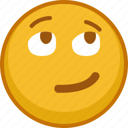 emoji, emoticon, emotion, interested, smile, smiley icon