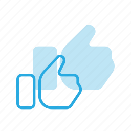 gesture, hand, like, rate, thumbs, touch, up icon