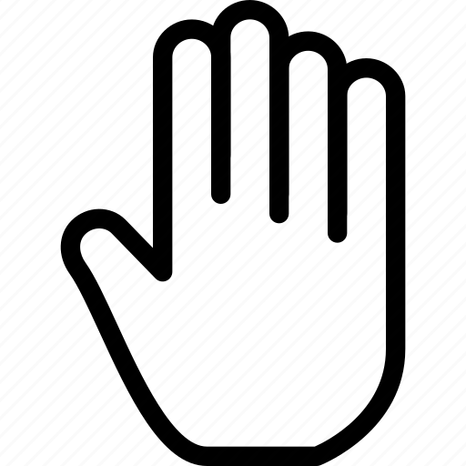 creative, finger, fingers, five, five-fingers, gesture, grid, hand, line, shape, touch, touch-gestures icon
