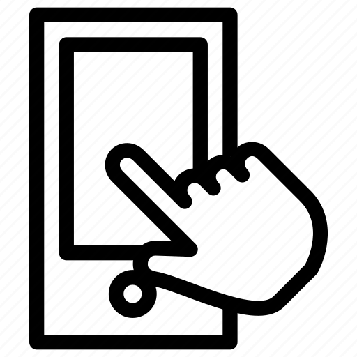 call, communication, creative, finger, fingers, gesture, grid, hand, hand-touch-smartphone, line, message, mobile, phone, shape, smartphone, technology, touch, touch-gestures icon