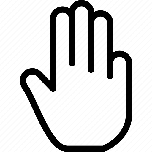 creative, finger, fingers, gesture, grid, hand, line, move, shape, swipe, tap, three, three-fingers, touch, touch-gestures icon