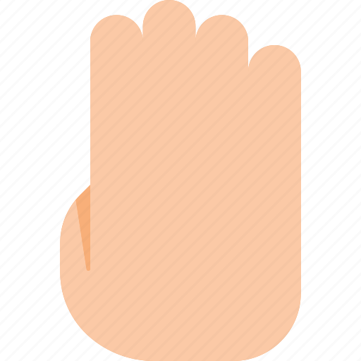 click, finger, four, gesture, hand, point, touch icon