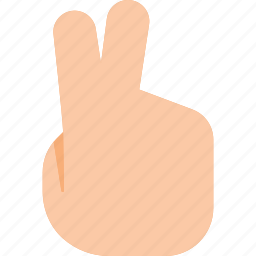 gesture, hand, peace, sign, touch, victory icon