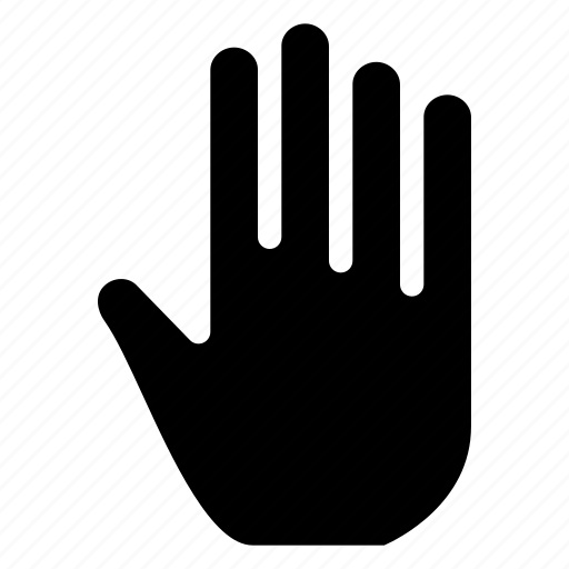 creative, finger, fingers, five, five-fingers, gesture, grid, hand, shape, touch, touch-gestures icon
