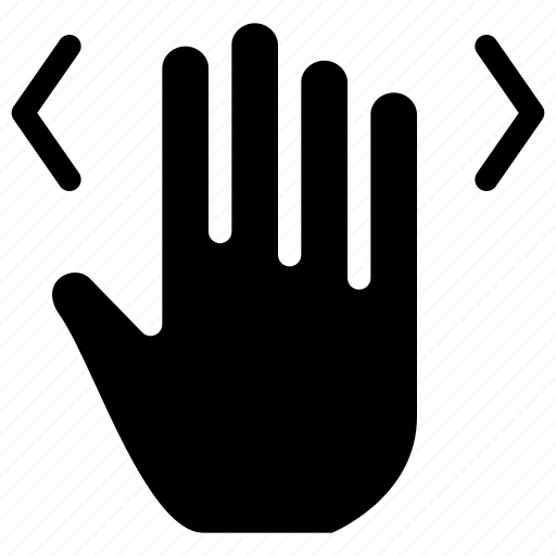arrow, arrows, creative, drag, enlarge, finger, fingers, gesture, grid, hand, interaction, left, maximize, move, right, shape, spread, touch, touch-gestures, work, zoom icon