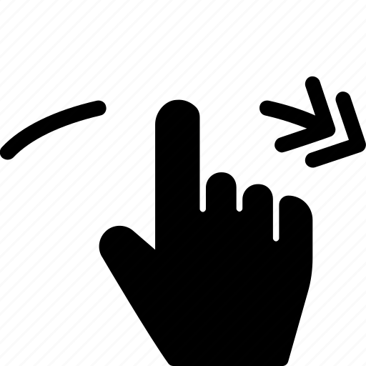gestures, hands and gestures, multimedia option, right, rotate, touch icon