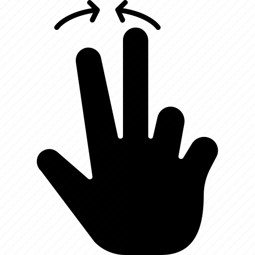 double, gesture, gestures, hands and gestures, multimedia option, tap, touch, two icon