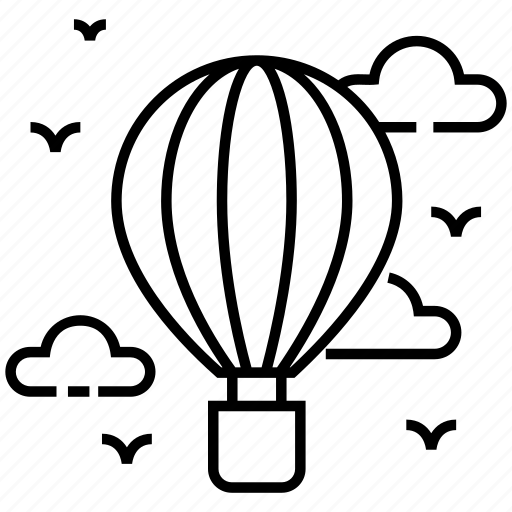 adventure, air balloon, air travel, aircraft, hot air balloon icon