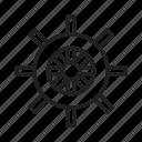 boat wheel, steering, ship, nautical