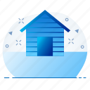 apartment, home, penthouse icon