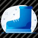 boot, ice, shoe, snow, winter icon
