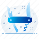 cutting, blade, cutter, tool icon
