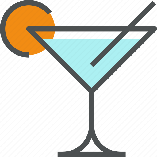 alcohol, beverage, cocktail, drink, glass, martini, party icon