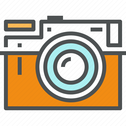 Camera, digital, photo, photocamera, photographing, photography, retro icon - Download on Iconfinder