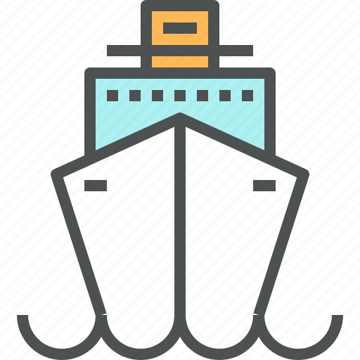 Cruise, marine, ocean, sea, ship, trip, vacation icon - Download on Iconfinder