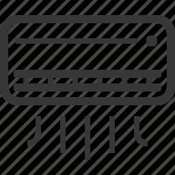 air conditioner, air conditioning icon