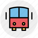 bus, coach, school bus, transport, vehicle icon
